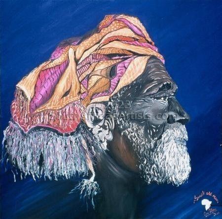 Swahili Old Man