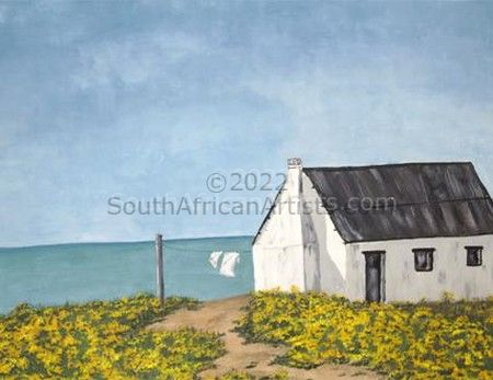 Fisherman's cottage at Paternoster