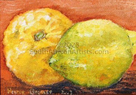 Framed Lemons 1