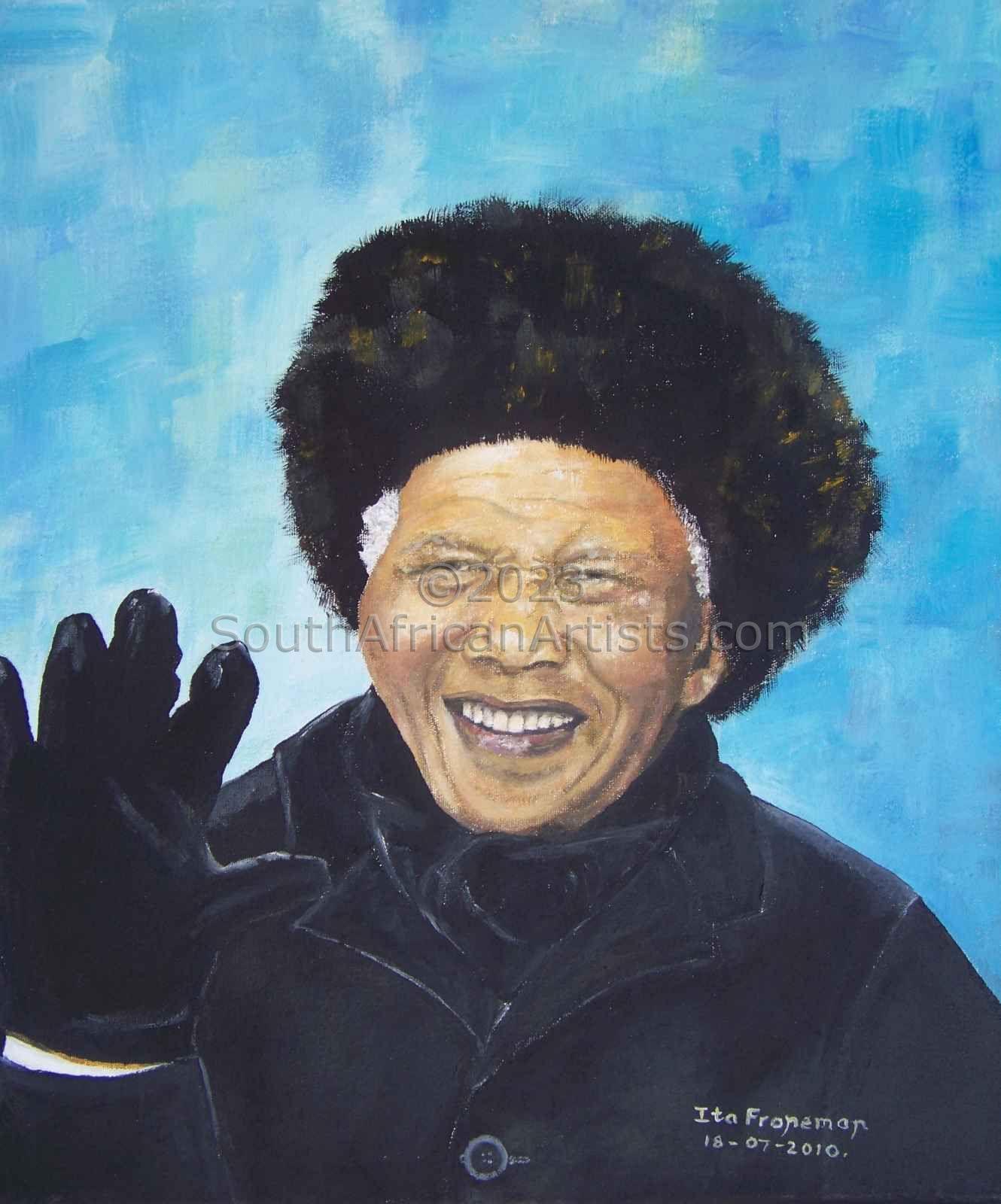 Nelson Mandela - Last Public Appearance