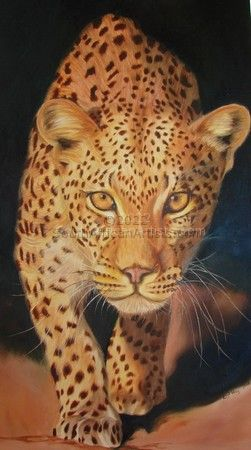 Beware! Prowling Leopard