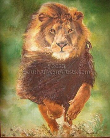 Charging Lion!