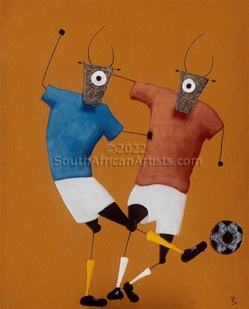 Soccer Players 5