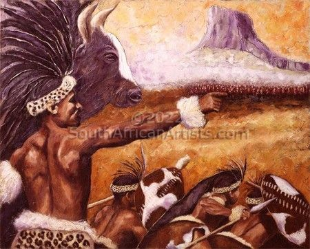 The Battle of Isandlwana (print)