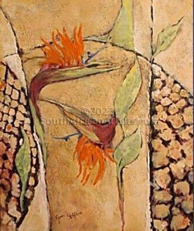 Strelitzias Abstract 1