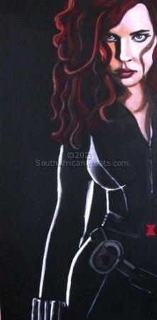 Scarlett in Iron Man