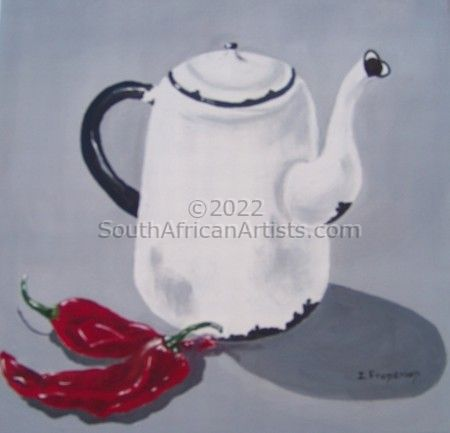 Enamel and Chillies 2