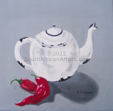 Enamel and Chillies 4