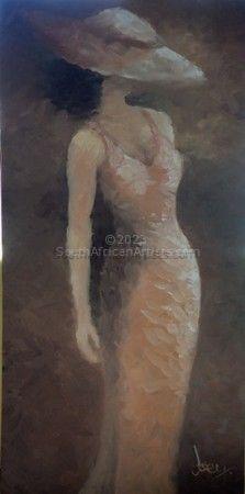 The Beige Dress