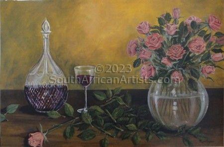 Arranging Roses