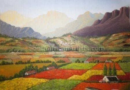 Autumn Colors Hex River Valley