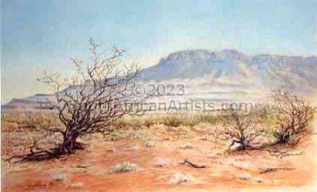 The Karoo, a Thirstland