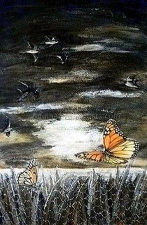 Butterflies at Dawn