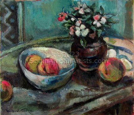 Fruit Bowl & Flowers