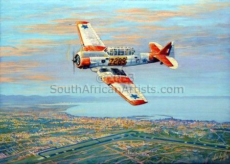 SAAF Harvard - Late Arrival #4