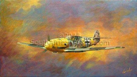 Messerschmitt BF-109F-4R1 - Dawn Hunter