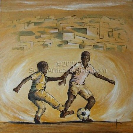 Soccer in Soweto