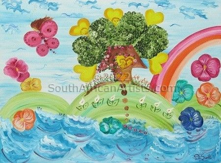 Naive Art - After the Storm