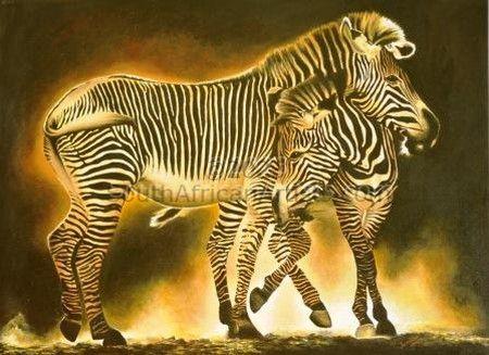 Zebra glow
