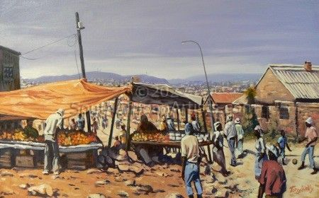 Road Stall, Soweto