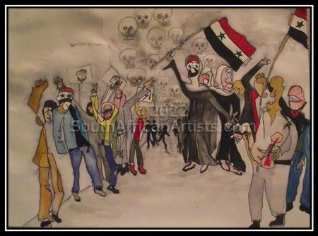 Liberty Leading the People - Syria