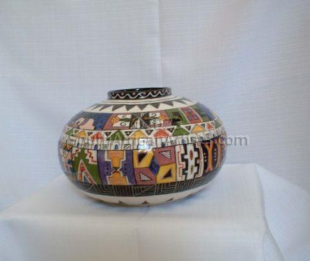 Ndebele Vase (medium)