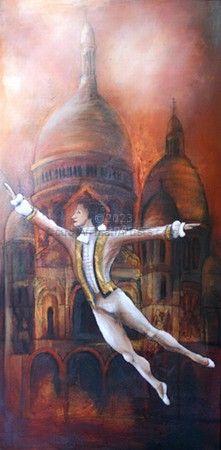 Ballet at Sacre-Coeur