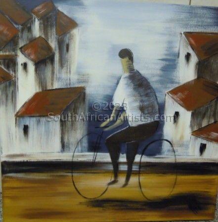 Tuscan Bicycle Scene