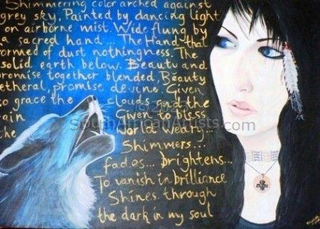 Wolf Spirit Woman