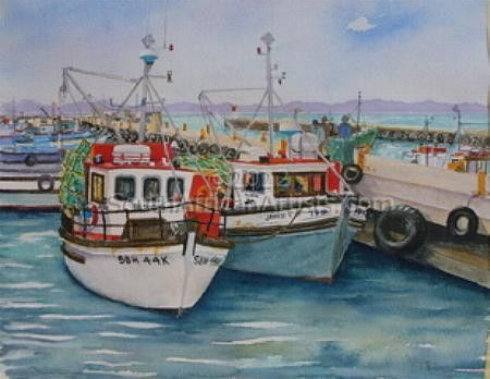 New Boats at Kalk Bay