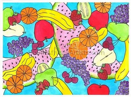 Fruit Salad With Watermelon
