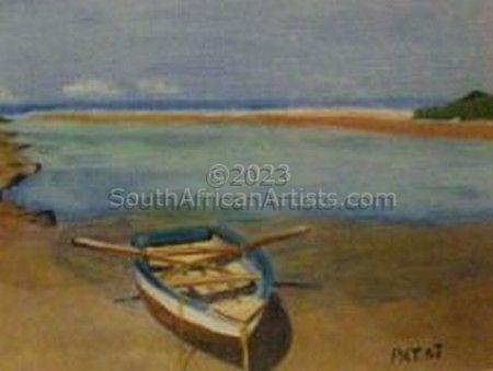 Boat at Beacon Bay