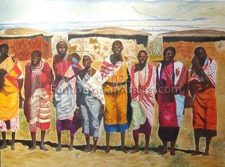 Mamma Africa TRIPTYCH 3