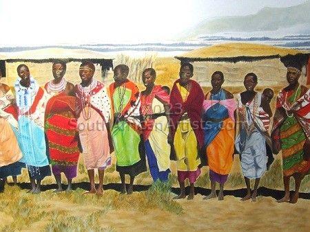 Mamma Africa Triptych 2