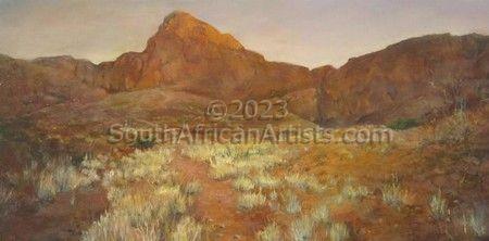 Sossusvlei Fossilised Dunes, Namibia
