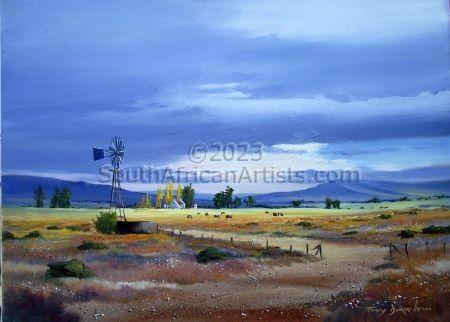 Karoo Summer Storm