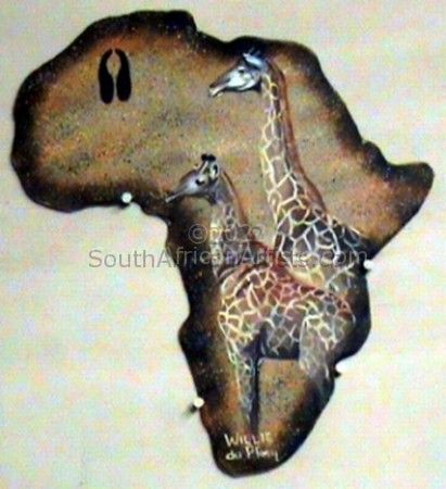 Out Of Africa Edition - Giraffe
