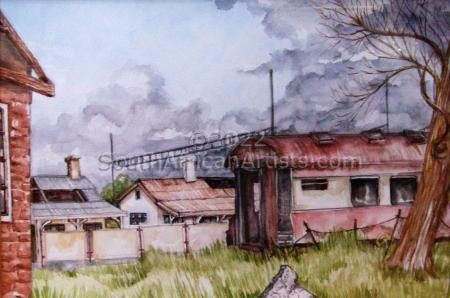 Brokedown Noupoort Station
