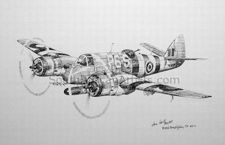RNZAF Bristol Beaufighter