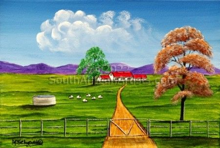 Tranquil Sheep Farm