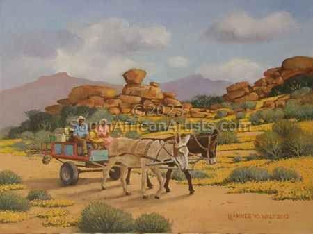 Karretjie People Namaqualand