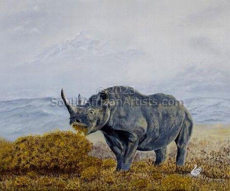 Gazing Rhinoceros