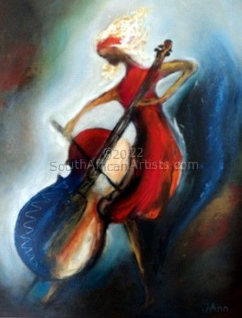 Blond Cello Player