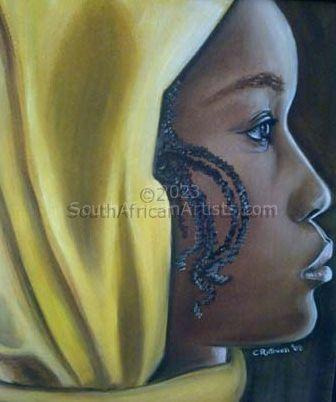 Woman With Yellow Bandana