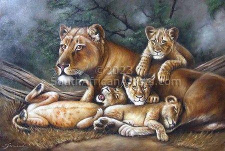 Lioness Babysitter