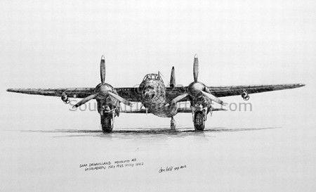 SAAF 60 Squadron Mosquito