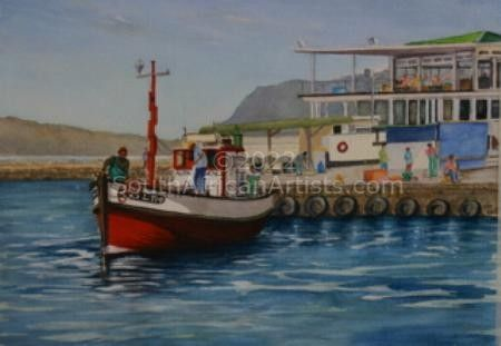 A Sunny Day at Kalk Bay Harbour