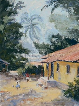 Yard, Sierra Leone