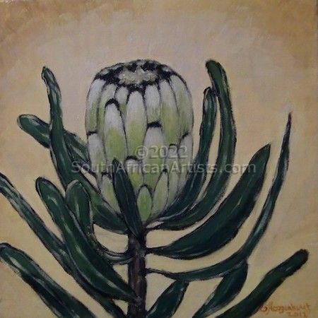 Protea - Green