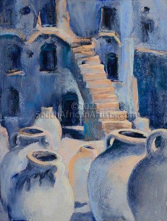 Moorish Stairs and Jars
